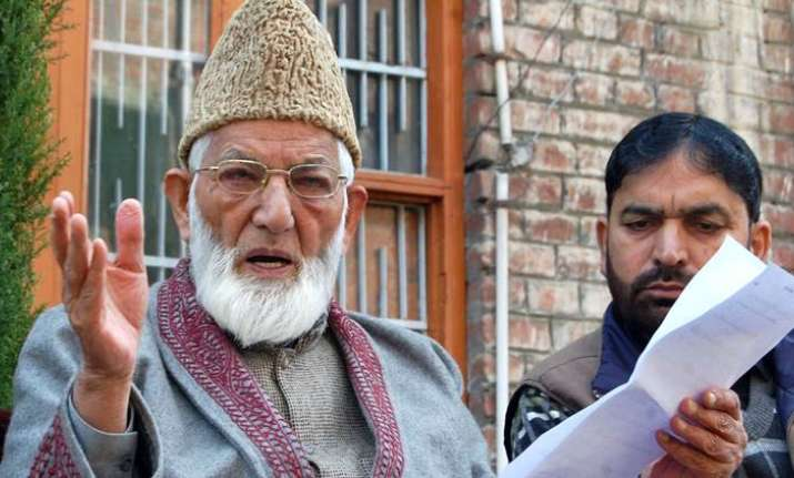 NIA has already arrested SAS Geelani's son-in-law in