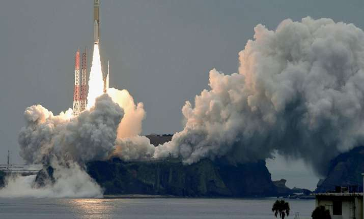 Michibiki 2 satellite getting launched