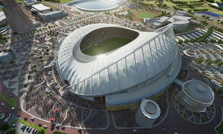Khalifa Stadium in Doha is one of the venues of the 2022