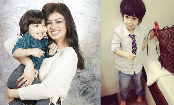 Ayesha Takia on son Mikail