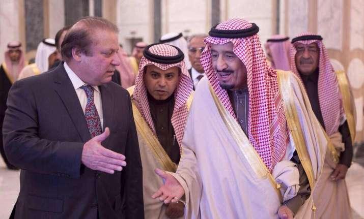 Nawaz Sharif met Saudi Arabia King Salman on Monday