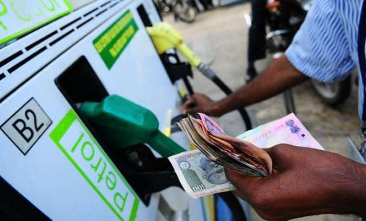 Petrol prices have risen sharply since the introduction of