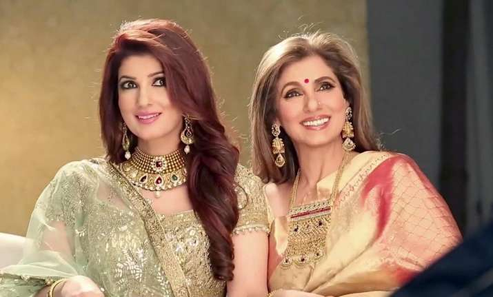 Image result for twinkle khanna look alike dimple kapadia