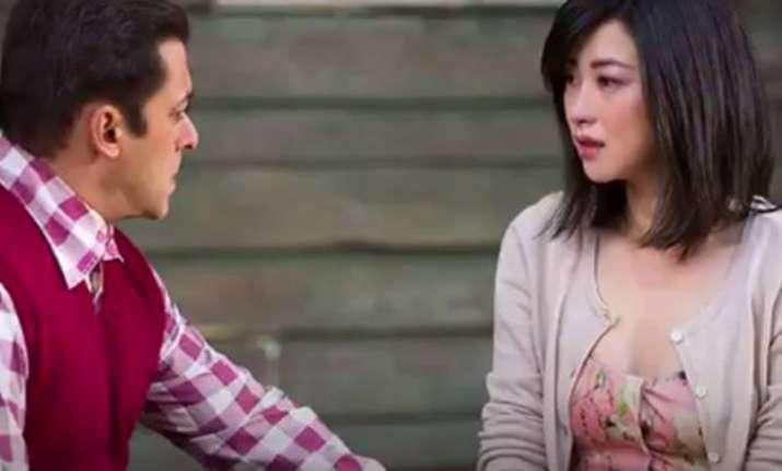 Zhu Zhu wuth Salman Khan in Tubelight
