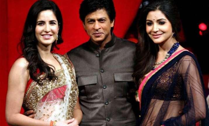 Katrina Kaif, Shah Rukh, Anushka Sharma