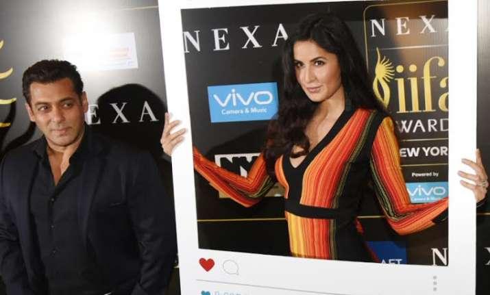 Salman Khan and Katrina Kaif share adorable moments at IIFA