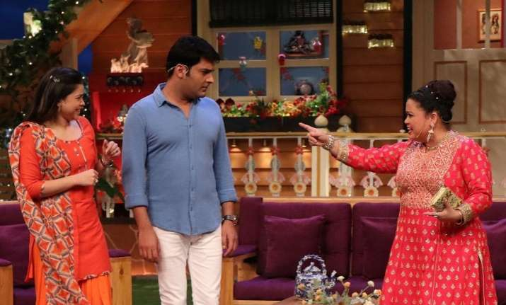 Kapil Sharma, Bharti Singh and Sumona