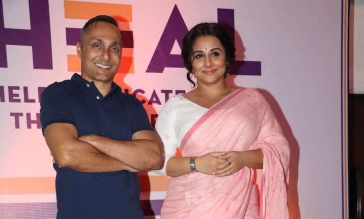 Rahul Bose Vidya Balan team up support abolition of child