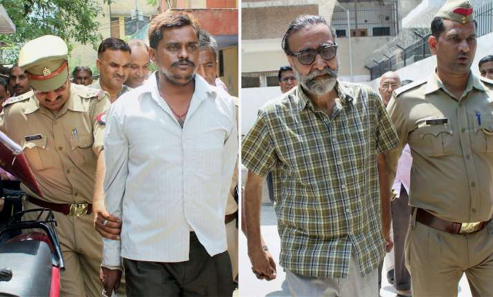 Chargesheets were filed against the two accused in 16 of