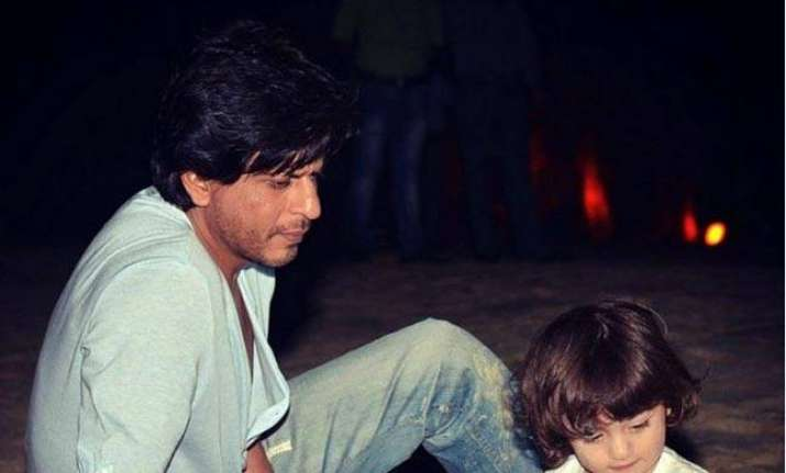 Shah Rukh Khan says AbRam is born for lovedom