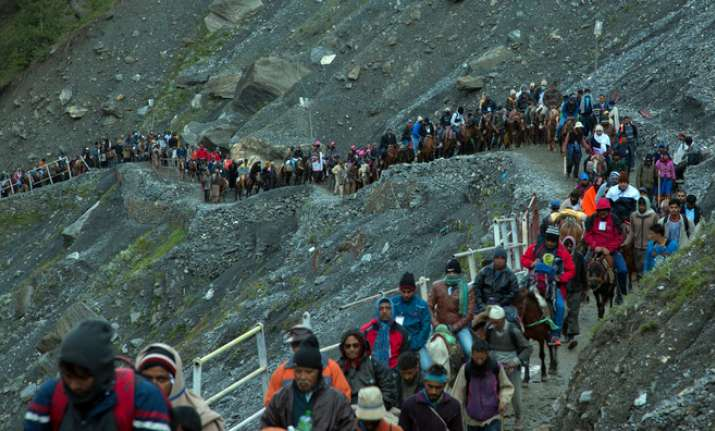 Post terror attack, more pilgrims head to Amarnath