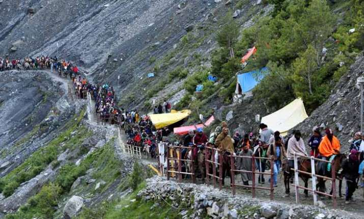 20th batch of 1,782 pilgrims leaves for Amarnath cave shrine