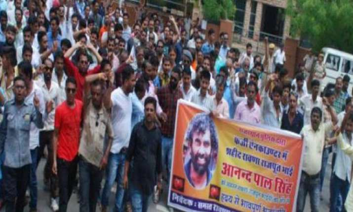 1 killed, 32 injured as protests against Anandpal's