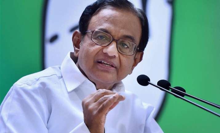 Modi govt's GST a mockery of original draft, Chidambaram