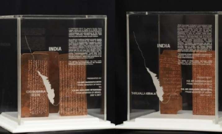 PM Modi gifts two relics from Kerala to Benjamin Netanyahu