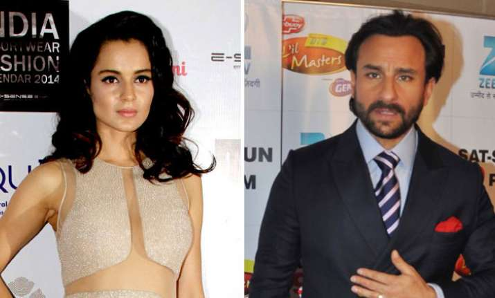 Kangana Ranaut on Saif Ali Khan's open letter on nepotism