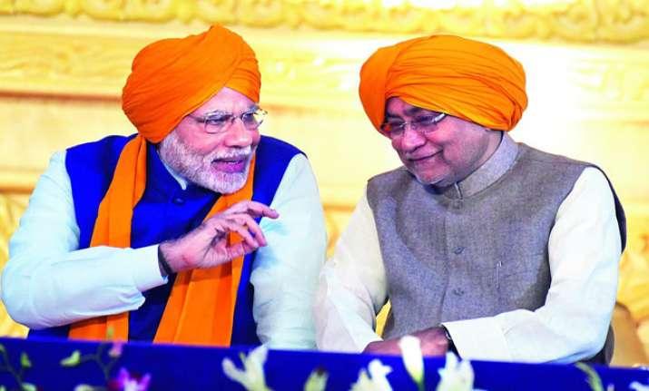 File photo of PM Narendra Modi and Nitish Kumar during the