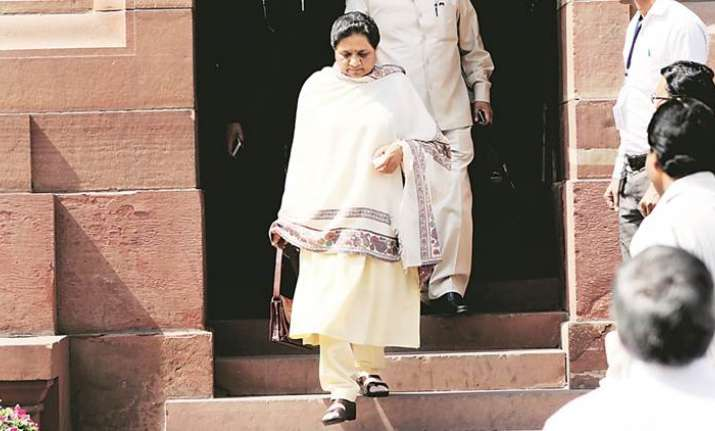 BSP Chief Mayawati resigns from Rajya Sabha