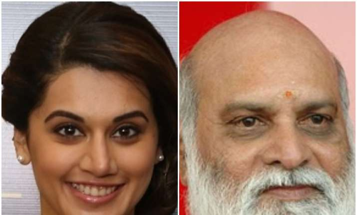 Taapsee Pannu makes fun of Raghavendra Rao