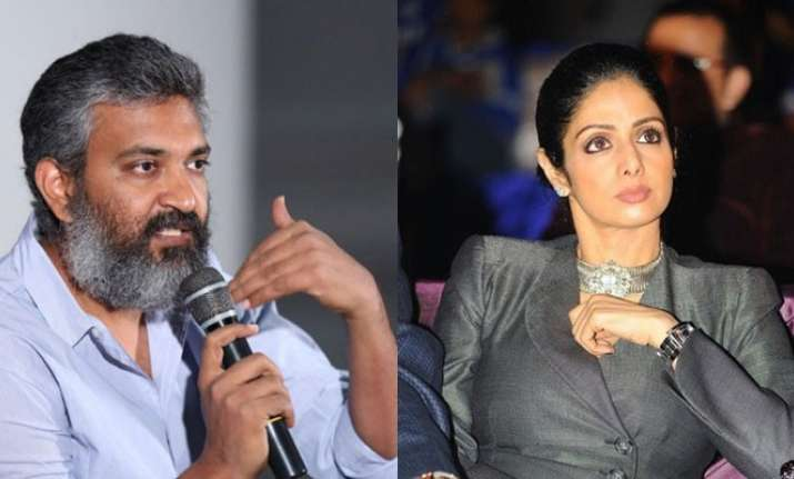 SS Rajamouli on Sridevi rejecting Baahubali