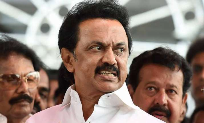 M K Stalin arrested enroute to Salem NEET protest on