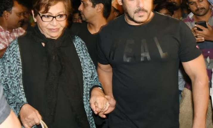 IIFA 2017 Salman Khan with Helen