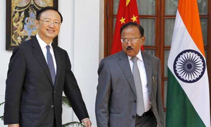 NSA Ajit Doval today held talks with his Chinese