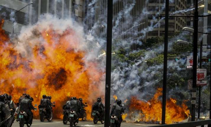 10 killed as protests against Venezuela assembly election