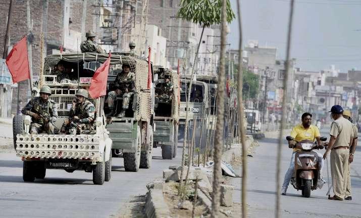 Dera violence: Peace restores in Haryana, Punjab