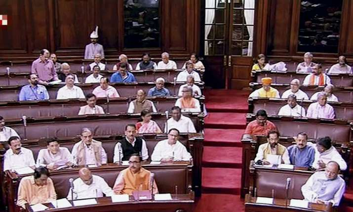 BJP is now single largest party in the Rajya Sabha