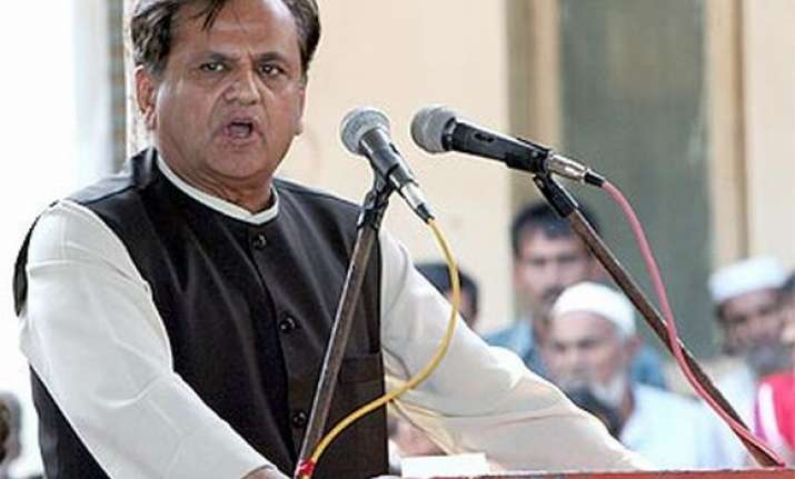 Congress leader Ahmed Patel is contesting the August 8