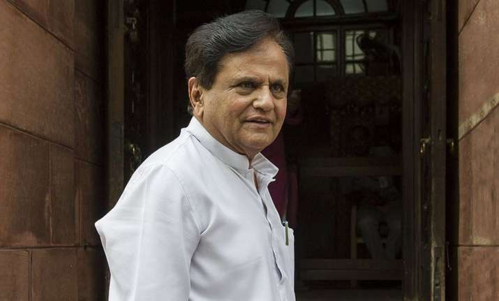 This will be Ahmed Patel's fifth term as a Rajya Sabha MP