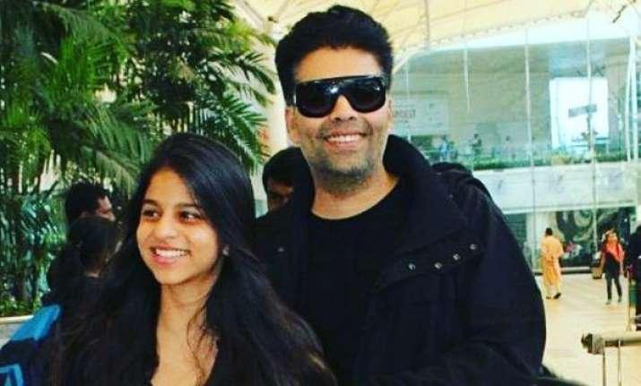 Shah Rukh Khan daughter Suhana make Bollywood debut Karan