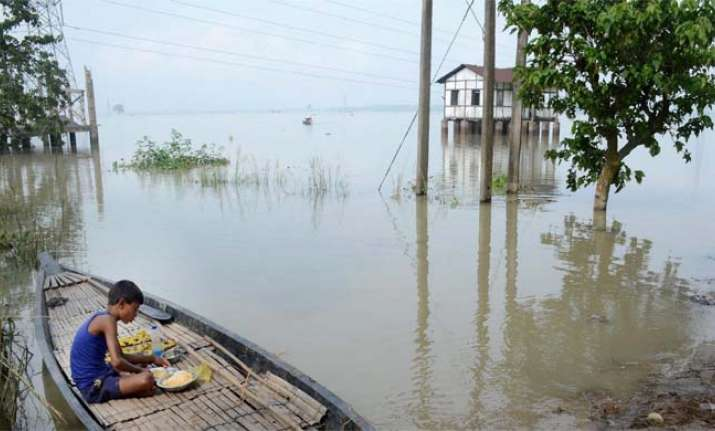 Flood in Assam has submerged 24 districts and affected over