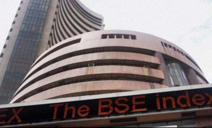 Sensex opens on positive note