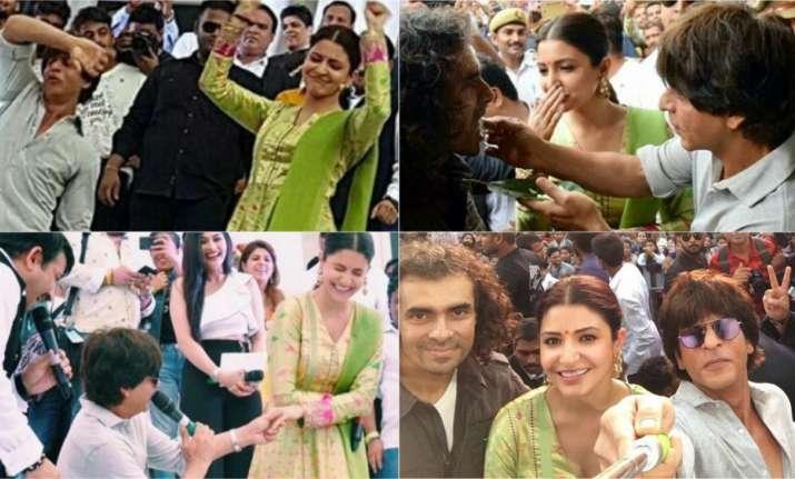 SRK chants Har Har Mahadev with Anushka Sharma, Imtiaz Ali