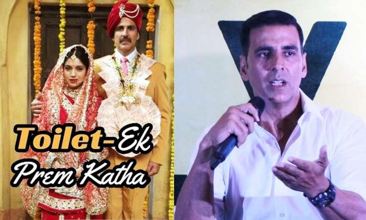 Toilet Ek Prem Katha Akshay Kumar