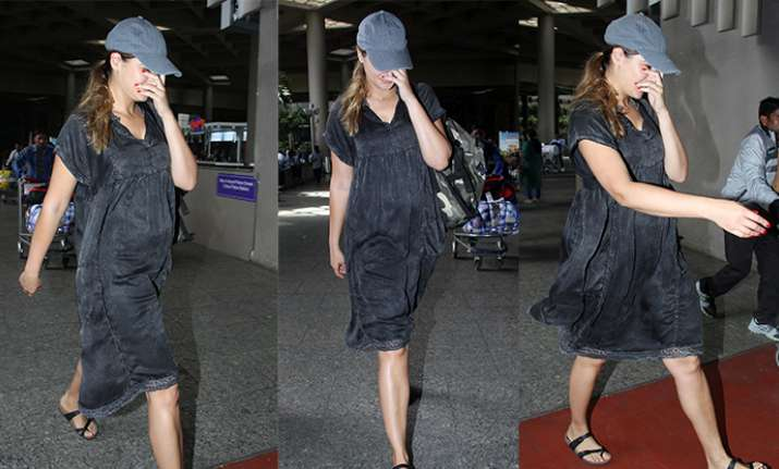 Nargis Fakhri pregnant rubbishes pregnancy rumours