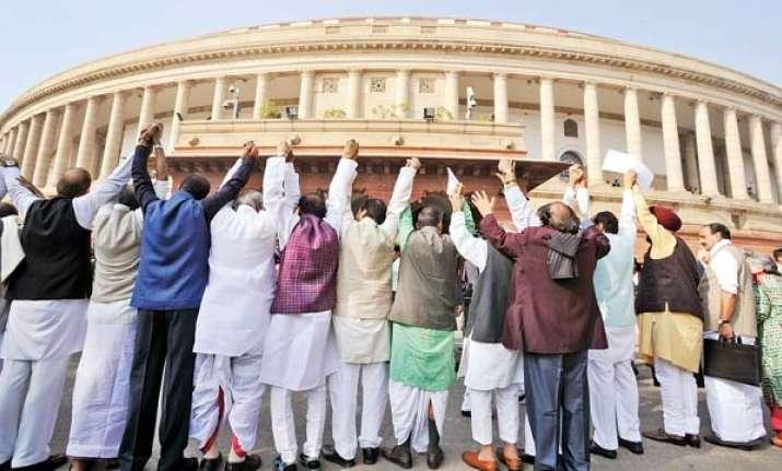 Govt mulling advancing 2019 Lok Sabha polls to sync with