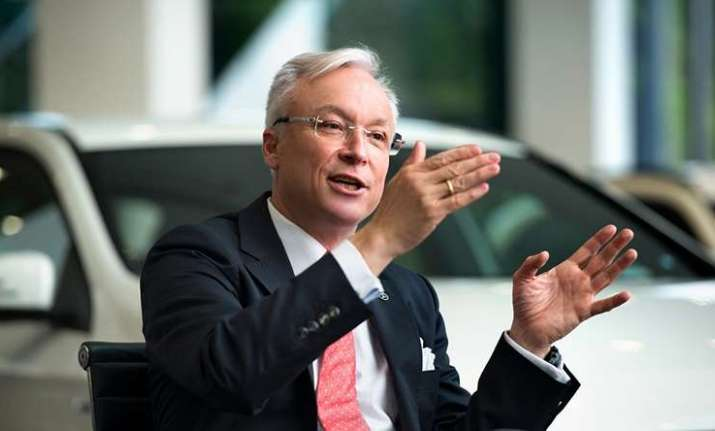 Roland Folger, MD and CEO, Mercedes-Benz India
