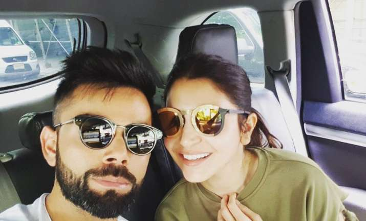 Anushka Sharma's lover Virat Kohli celebrates win with