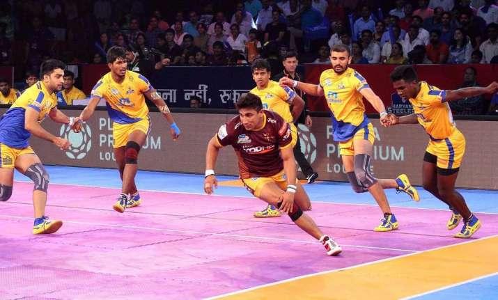 Online-Match macht Tamil