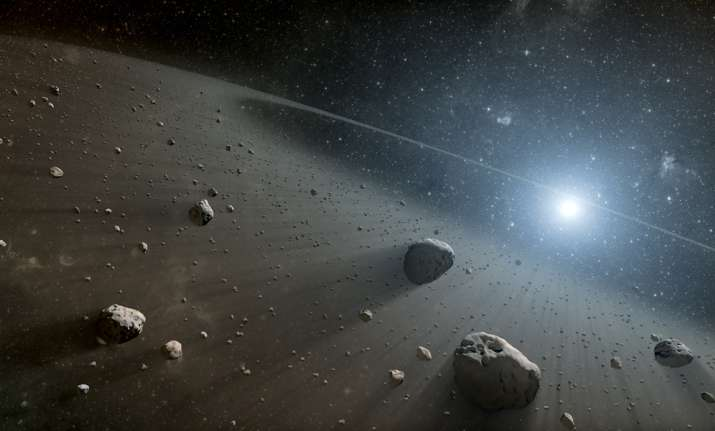 The asteroids were exhibiting all signs of a comet.