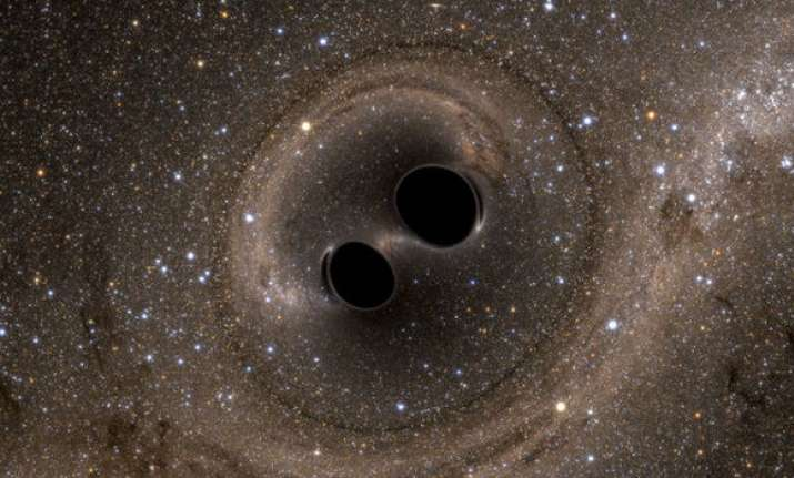 Supermassive black holes - Representational Image