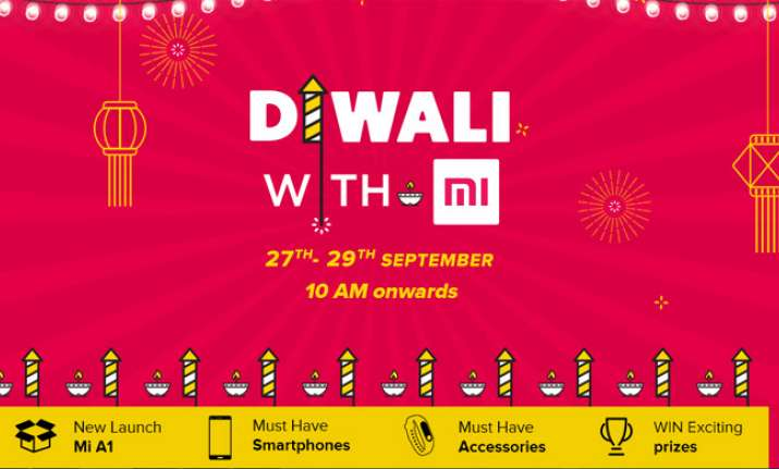 Xiaomi Diwali with Mi Sale began and 10 am today