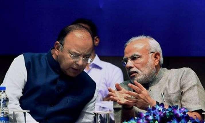 File photo of Prime Minister Narendra Modi with Finance