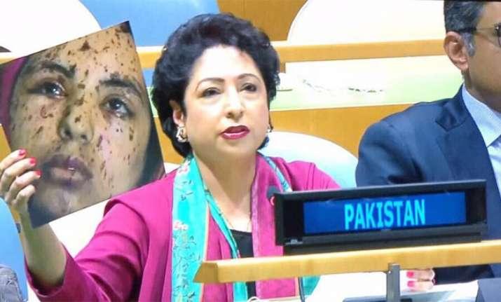 Pakistan's ambassador to UN Maleeha Lodhi