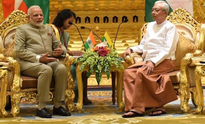 PM Modi, Myanmar president discuss 'historical