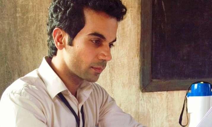 Rajkummar Rao's look in Newton