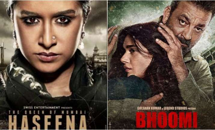 Bhoomi Vs Haseena Parkar Box Office Collection Day 1